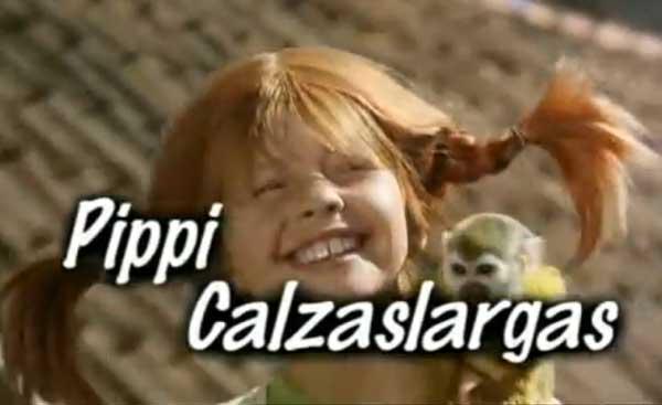 serie de Pippi Calzaslargas en Suecia