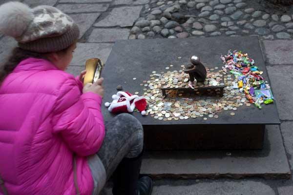 Escultura en Estocolmo