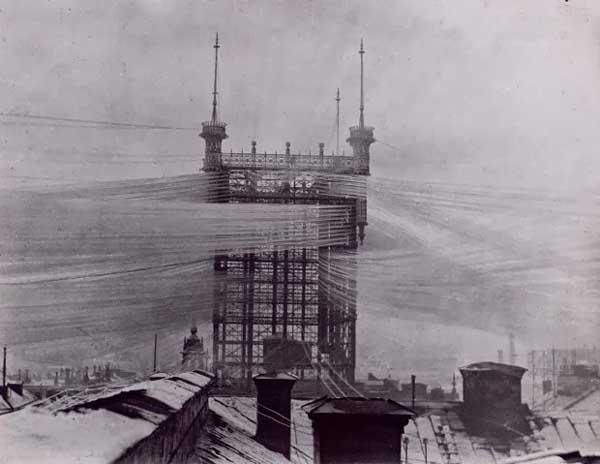 torre de teléfonos en Estocolmo