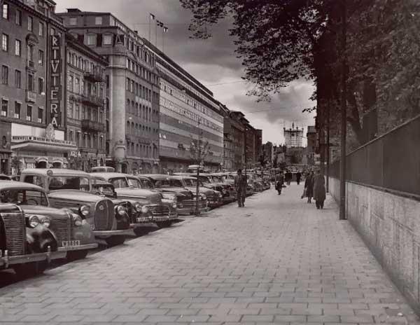 torre de teléfonos en Estocolmo 1890