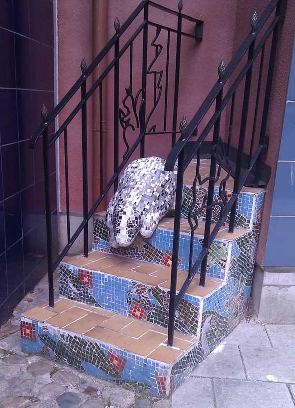 La escalera del tejón Malmo