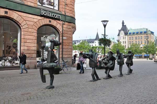 escultura de Yngve Lundell