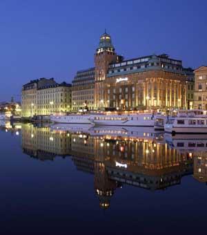 Hotel con encanto en Estocolmo.