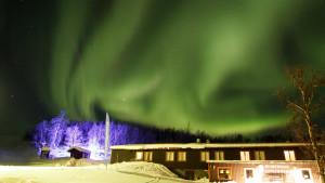 Auroras boreales Suecia