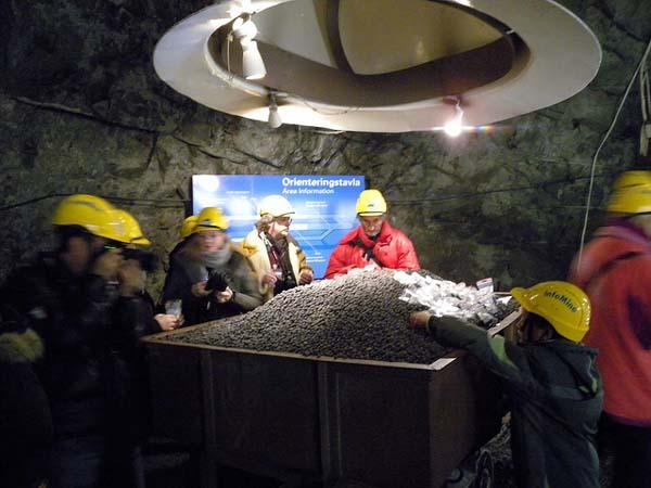 mina de hierro en kiruna