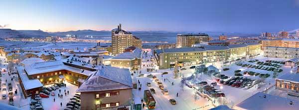 Kiruna Suecia