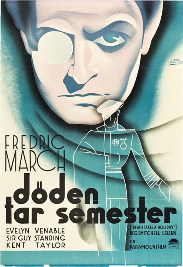 Death Takes a Holiday, 1934 (artist Moje Aslund).