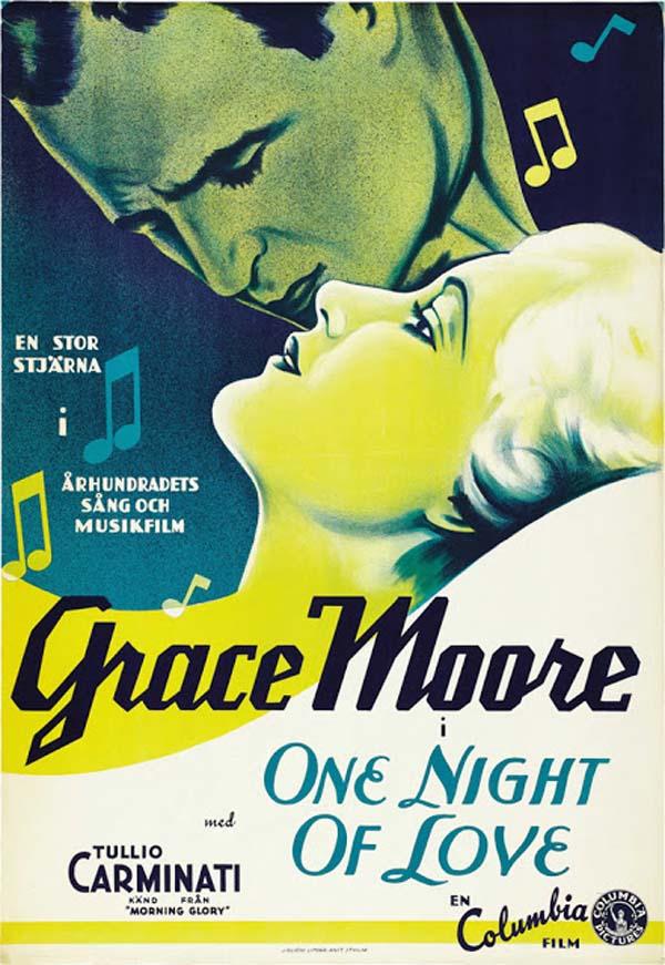One Night of Love, 1934.