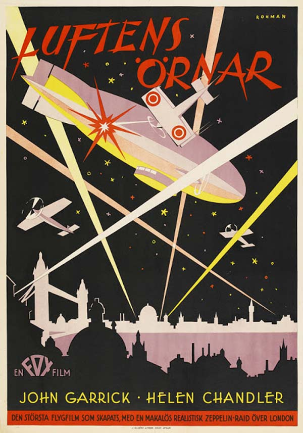 The Sky Hawk, 1929 (artist: Eric Rohman).
