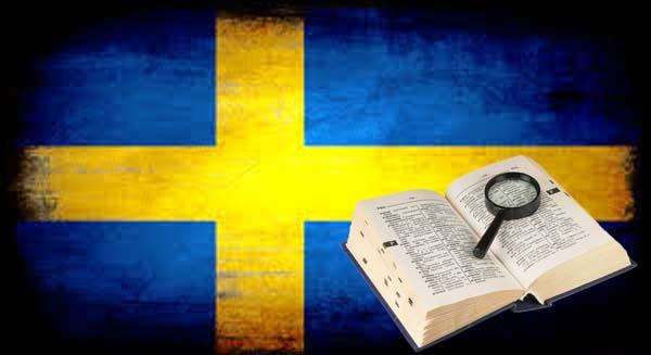 edicion del diccionario sueco