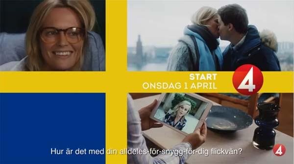 comedia romantica welcome to sweden