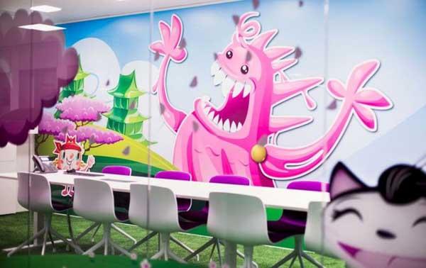 oficinas de candy crush en Estocolmo Suecia