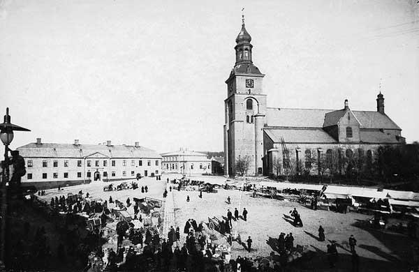 Iglesia de Kristine, Provincia de Dalarna, Suecia.