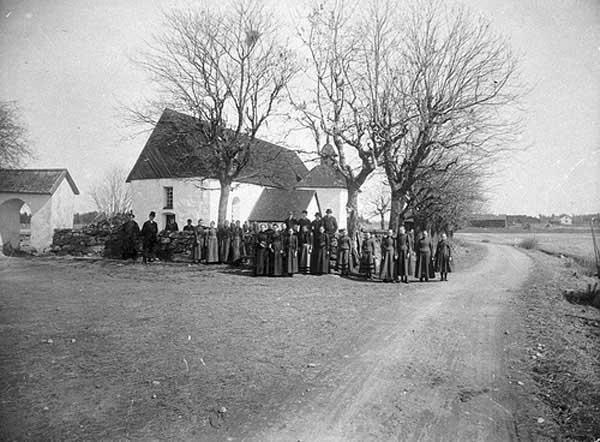 Iglesia de Lista, Provincia de Södermanland, Suecia.