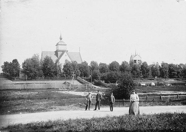 Iglesia en la ciudad de Piteå