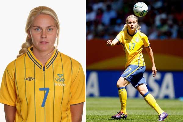 Lisa Dahlkvist centrocampista