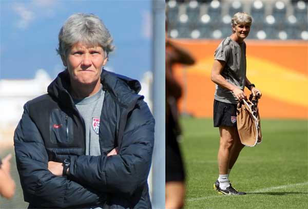 entrenadora de suecia Pia Mariane Sundhage