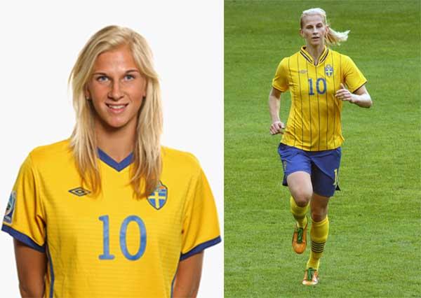 Sofia Jakobsson delantera