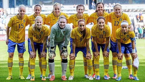 seleccion sueca de futbol femenino