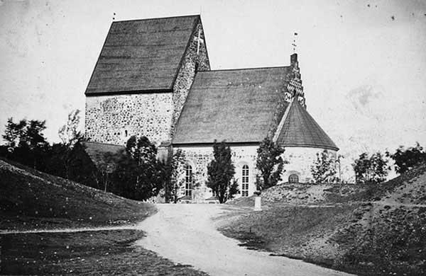 Gamla Uppsala Church, Suecia