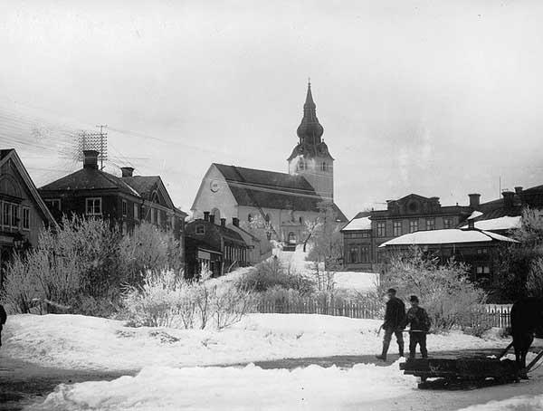 Iglesia Hudiksvall, Suecia