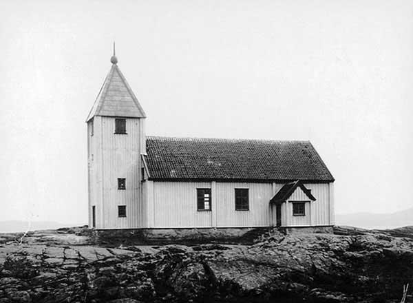 Iglesia Klädesholmen, Suecia