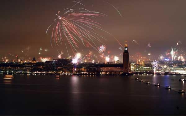 año nuevo en estocolmo suecia