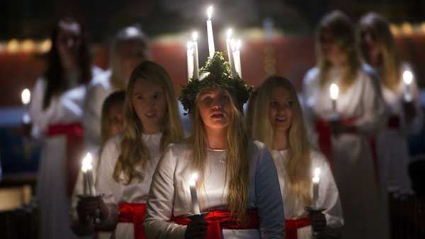 santa lucia en suecia