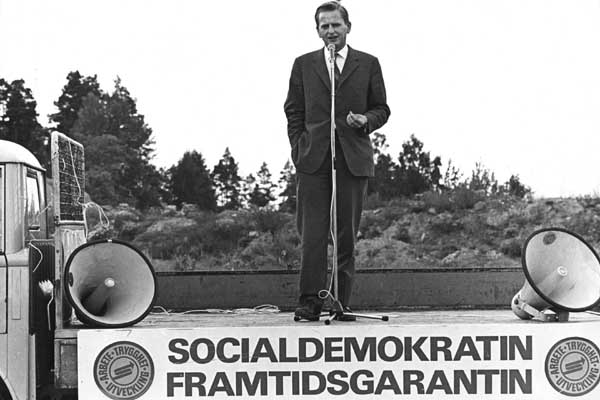 Primer Ministro Olof Palme