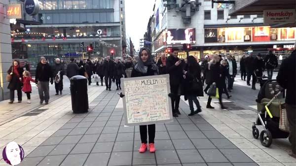reacción en suecia ante gente musulmana