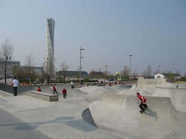lugar para patinar en suecia