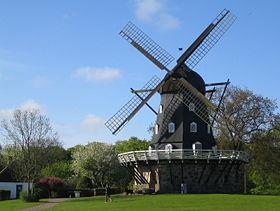 Molino de viento en Malmö